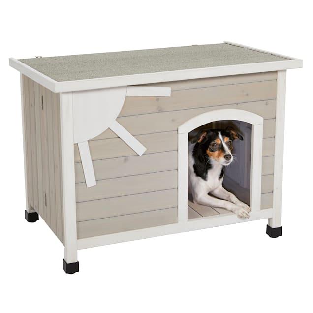 Midwest Eilio Folding Wood Dog House, Small - Carousel image #1