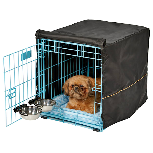 """Midwest Blue iCrate Starter Kit Bundle for Dogs, 24.51"""" L X 18.01"""" W X 19.01"""" H - Carousel image #1"""
