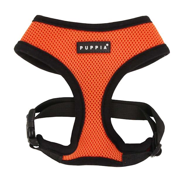 Puppia Orange Soft Dog Harness, X-Small - Carousel image #1