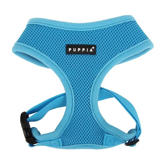 Puppia Sky Blue Soft Dog Harness, X-Small - Carousel image #1