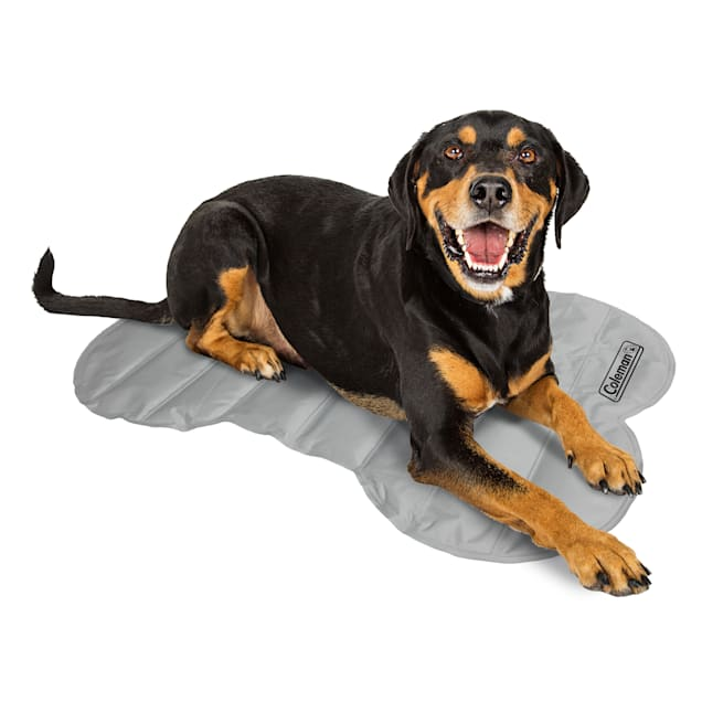 """Coleman Gray Cooling Mat for Dogs, 24"""" L X 24"""" W - Carousel image #1"""