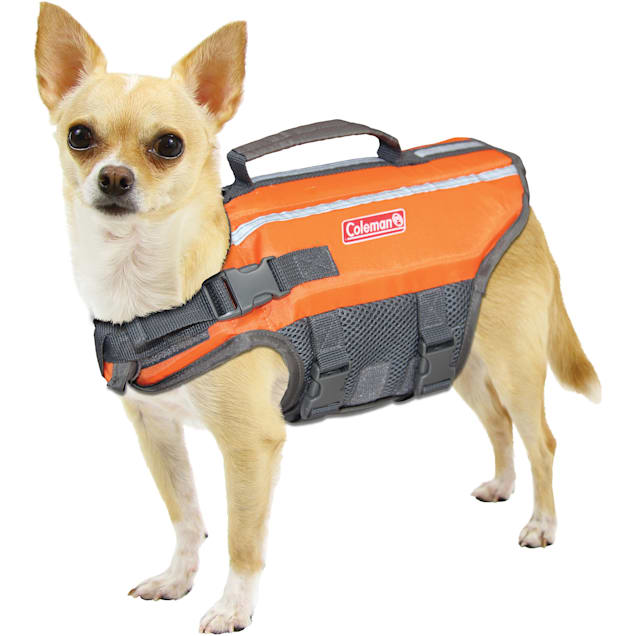 Coleman Orange Pet Flotation Dog Vest, X-Small - Carousel image #1