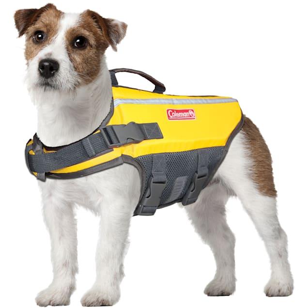 Coleman Yellow Pet Flotation Dog Vest, Small - Carousel image #1