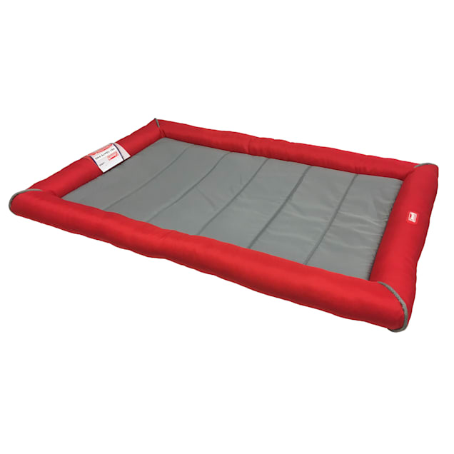 """Coleman Red Crate Bed for Dogs, 39.5"""" L X 26.25"""" W - Carousel image #1"""