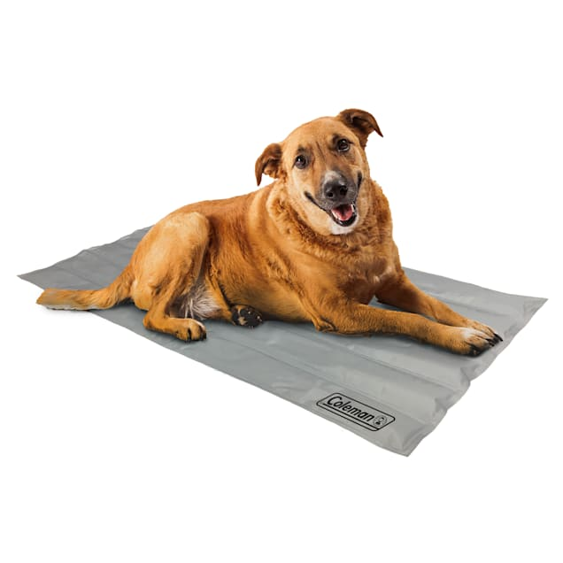 """Coleman Grey Cooling Mat for Dogs, 36"""" L X 20"""" W - Carousel image #1"""