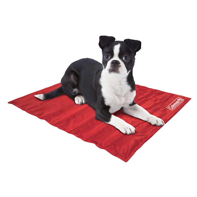 """Coleman Red Cooling Mat for Dogs, 18"""" L X 12"""" W - Carousel image #1"""