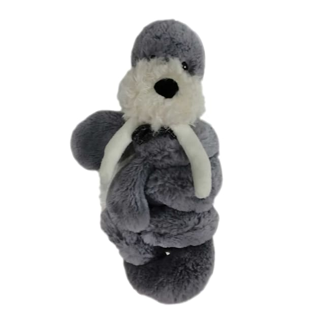Bark-A-Boo Arctic Dream Curly Whirlies Walrus Dog Toy, Medium - Carousel image #1