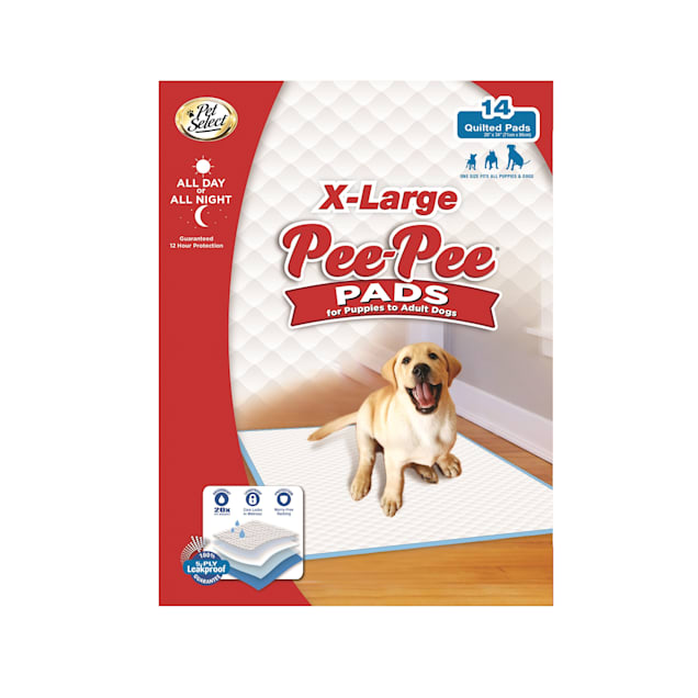 Four Paws X-Large Pee Pee Pads for Dogs and Puppies, Count of 14 - Carousel image #1