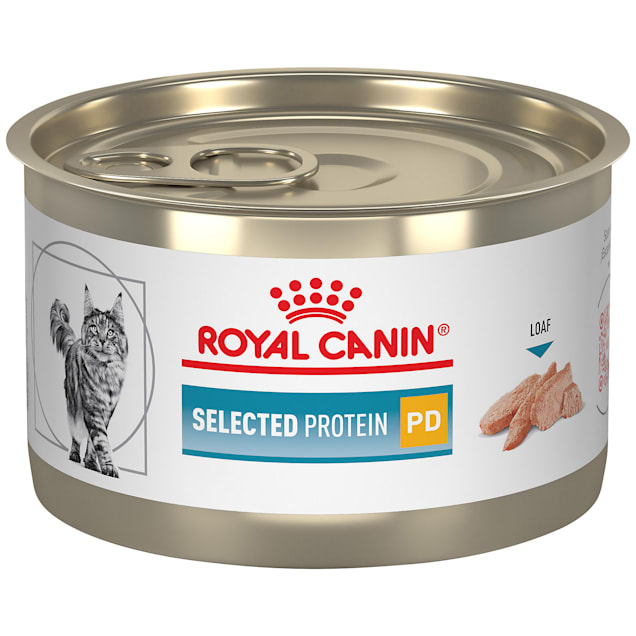 Royal Canin Veterinary Diet Selected Protein with Pea and Duck Wet Cat Food, 5.1 oz., Case of 24 - Carousel image #1