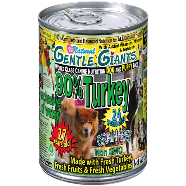 Gentle Giants 90% Turkey World Class Wet Dog Food, 13 oz., Case of 12 - Carousel image #1