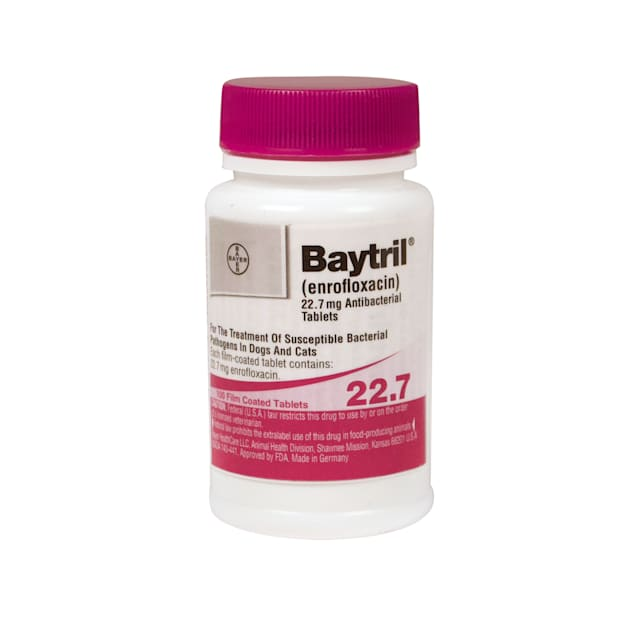 Baytril 22.7 mg, Single Film-Coated Tablet - Carousel image #1