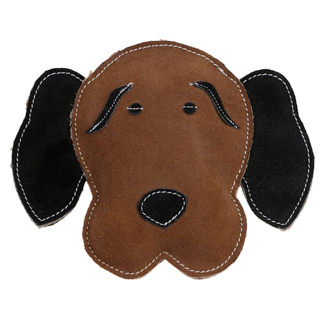 Country Tails DOOG Brown Hound Leather Dog Chew Toy, Medium - Carousel image #1