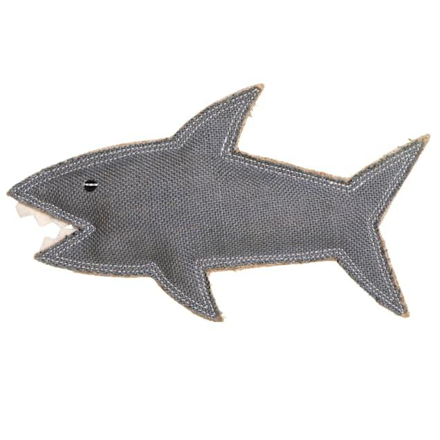 Outback Tails DOOG Grey Shazza The Shark Dog Toy, Medium - Carousel image #1