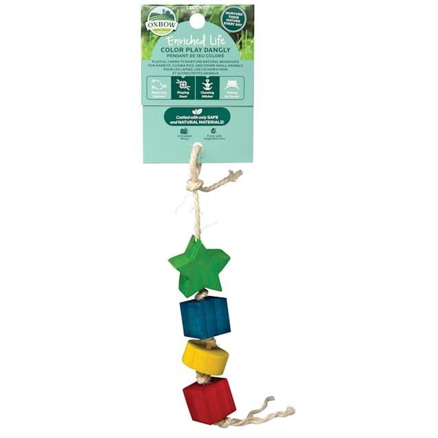 Oxbow Enriched Life Color Dangly for Small Animals - Carousel image #1
