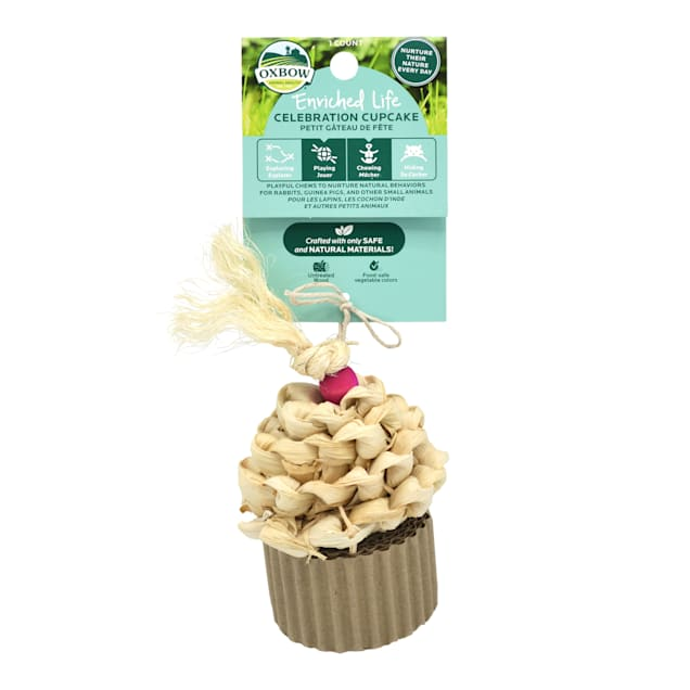 Oxbow Enriched Life Celebration Cupcake for Small Animals - Carousel image #1