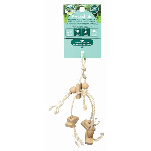Oxbow Enriched Life Deluxe Natural Dangly for Small Animals - Carousel image #1