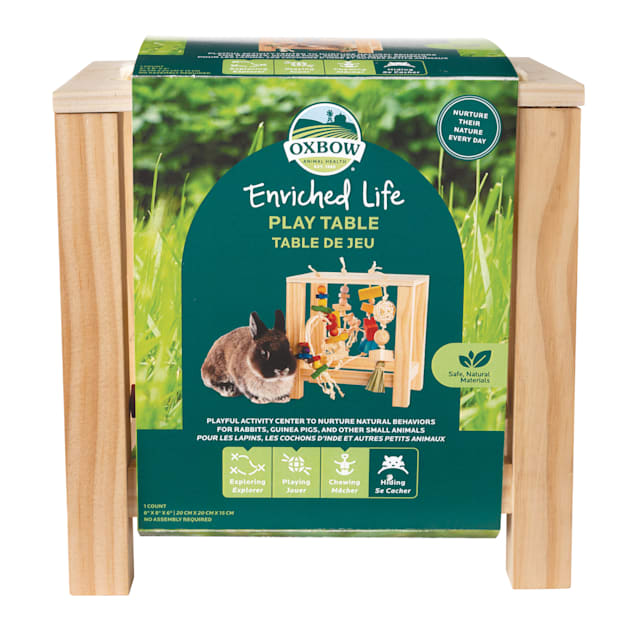 Oxbow Enriched Life Play Table for Small Animals - Carousel image #1