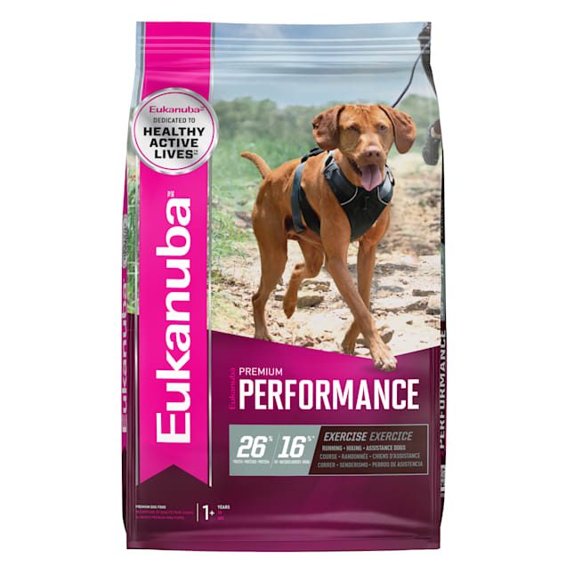 Eukanuba Premium Performance 26/16 EXERCISE Adult Dry Dog Food, 28 lbs. - Carousel image #1