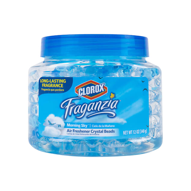 Clorox Fraganzia Air Freshener Crystal Beads in Morning Sky Scent, 12 fl. oz. - Carousel image #1