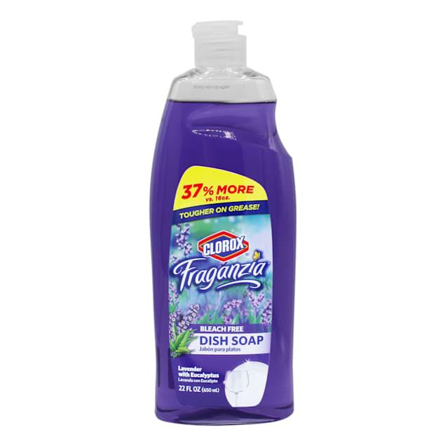 Clorox Fraganzia Dish Soap in Lavender Scent, 22 fl. oz. - Carousel image #1