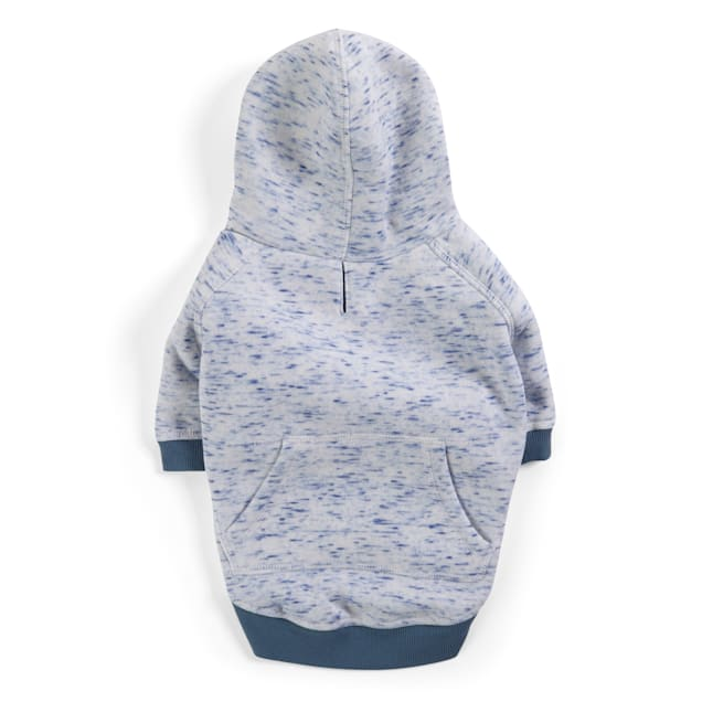 YOULY The Champion Blue Space-Dye Dog Hoodie, X-Small - Carousel image #1