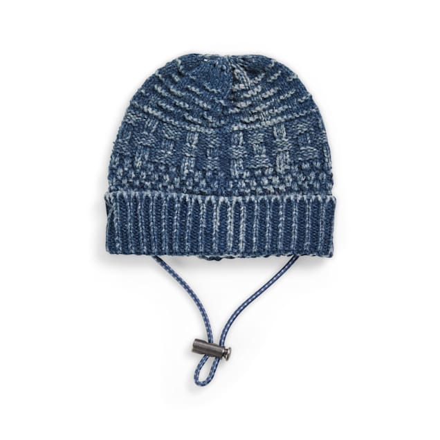 YOULY The Hipster Blue Dog Beanie, X-Small/Small - Carousel image #1