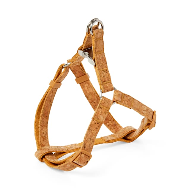 Bond & Co. Started As A Bottle Recycled & Reinvented Cork Cloth Dog Harness, Small - Carousel image #1