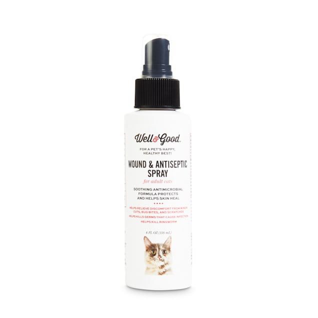 Well & Good Wound Spray for Cats, 4 fl. oz. - Carousel image #1