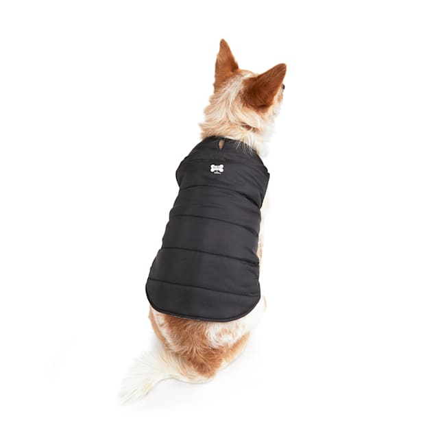 BOBS from Skechers Loverboy Reversible Dog Puffer Jacket, X-Small - Carousel image #1