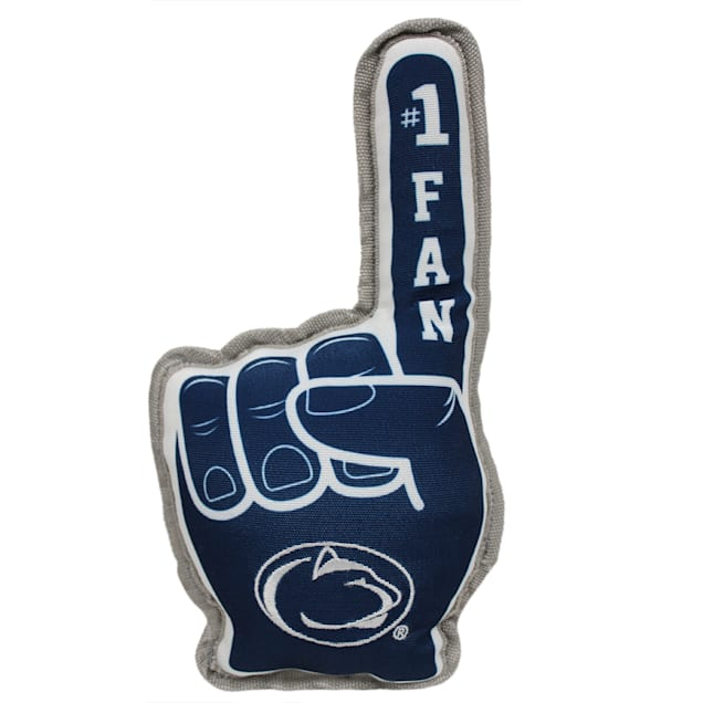 Pets First Penn State #1 Fan Toy for Dogs - Carousel image #1
