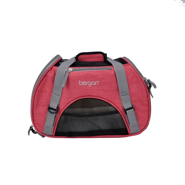 """Bergan Heather Berry Comfort Carrier for Dogs, 16"""" L X 8"""" W X 11"""" H - Carousel image #1"""