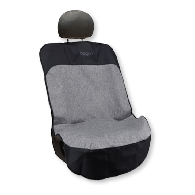 Bergan Auto Bucket Grey/Black Seat Protector for Dogs - Carousel image #1