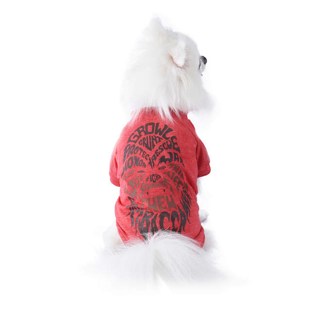 Fetch for Pets Star Wars Red Chewbacca Growl Dog T-Shirt, Medium - Carousel image #1