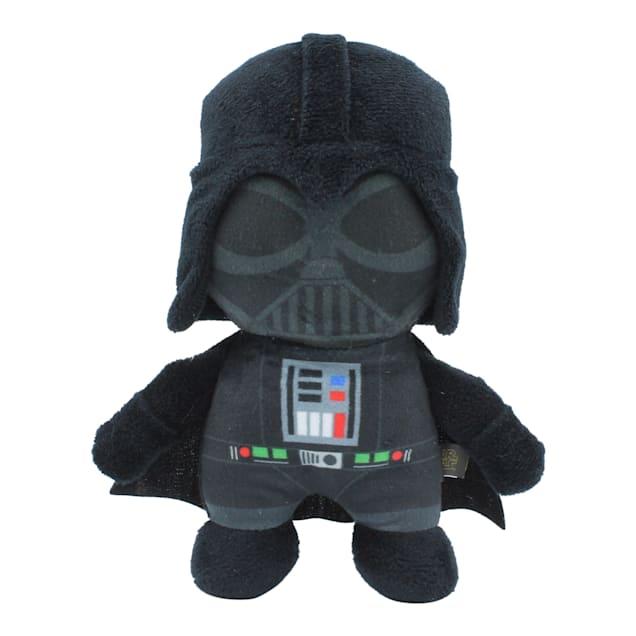 Fetch for Pets Star Wars Darth Vader Plush Figure Squeaker Dog Toy, Medium - Carousel image #1