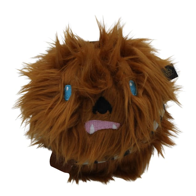 Fetch for Pets Star Wars Chewbacca Plush Ball Body Squeaker Dog Toy, Medium - Carousel image #1