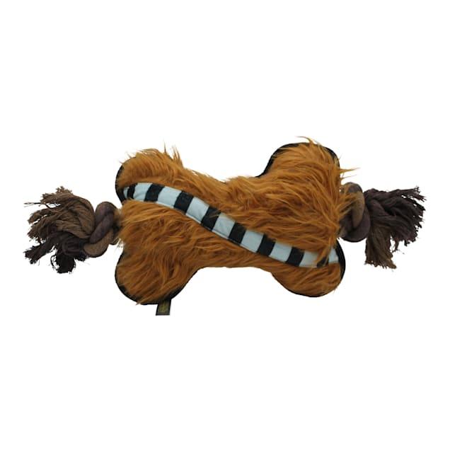 Fetch for Pets Star Wars Chewbacca Plush Bone Rope Dog Toy, Medium - Carousel image #1