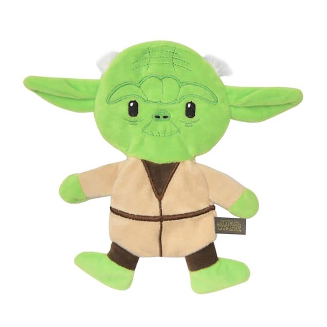 Fetch for Pets Star Wars Yoda Plush Flattie Dog Toy, Small - Carousel image #1