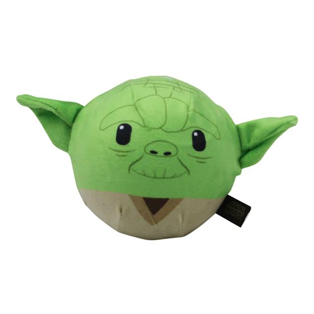Fetch for Pets Yoda Plush Ball Body Squeaker Dog Toy, Medium - Carousel image #1