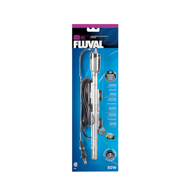 Fluval M50 Submersible Heater, 50 W, up to 15 US Gal (50 L) - Carousel image #1
