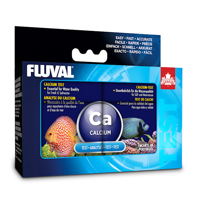 "Fluval Fresh/Salt Calcium Test Kit, 3.5"" L X 5.5"" W X 2"" H - Carousel image #1"