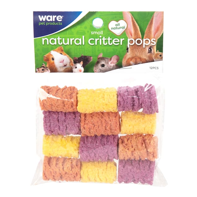 WARE Small Natural Critter Pops Small Animal Treats, Pack of 12 - Carousel image #1