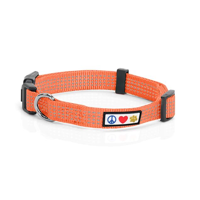 Pawtitas Reflective Orange Puppy or Dog Harness, X-Small - Carousel image #1