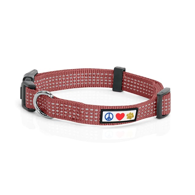 Pawtitas Reflective Marsala Brown Puppy or Dog Harness, X-Small - Carousel image #1