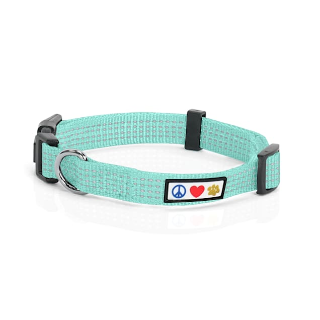 Pawtitas Reflective Teal Puppy or Dog Harness, X-Small - Carousel image #1