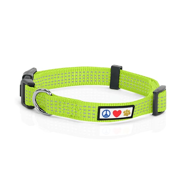 Pawtitas Reflective Green Puppy or Dog Harness, X-Small - Carousel image #1