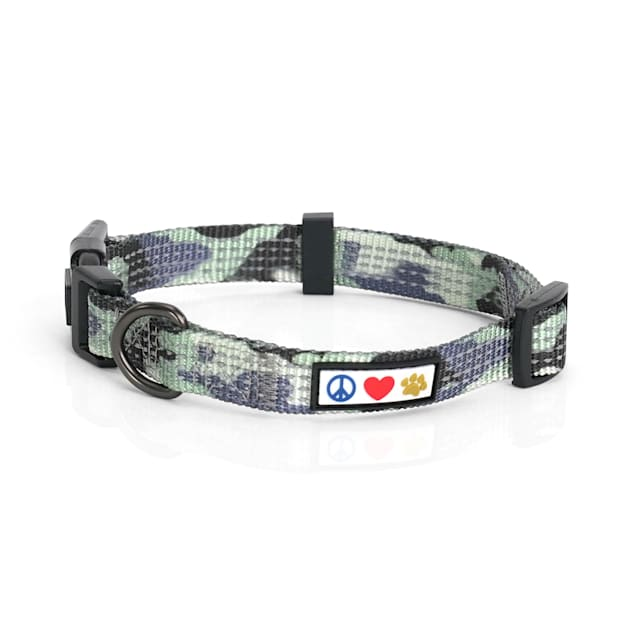 Pawtitas Reflective Camouflage Grey Puppy or Dog Harness, X-Small - Carousel image #1