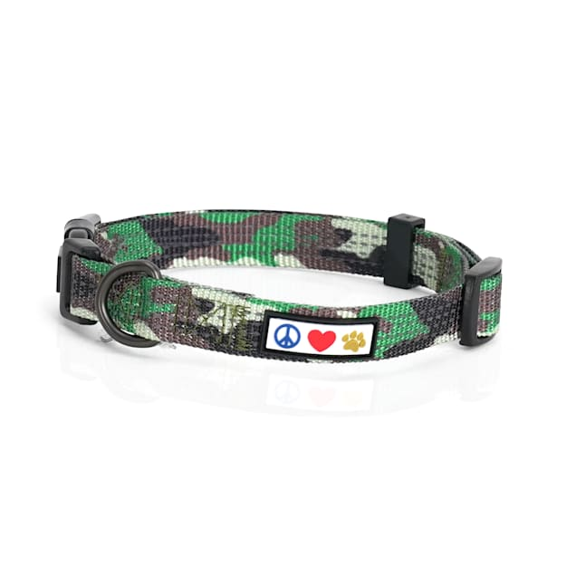 Pawtitas Reflective Camouflage Green Puppy or Dog Harness, X-Small - Carousel image #1