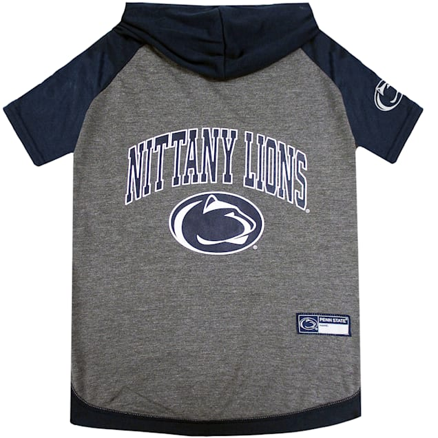 Pets First Penn State Hoodie Dog T-Shirt, X-Small - Carousel image #1