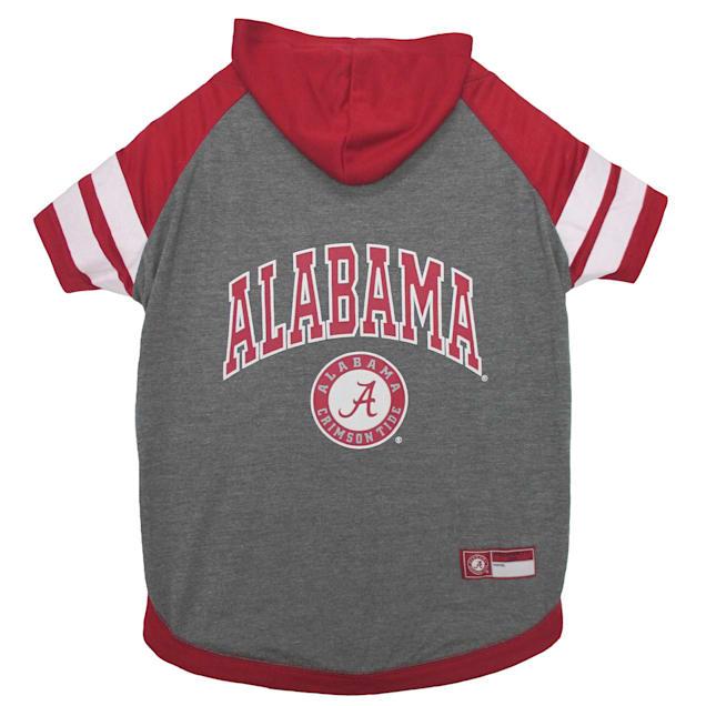 Pets First Alabama Hoodie Dog T-Shirt, Medium - Carousel image #1