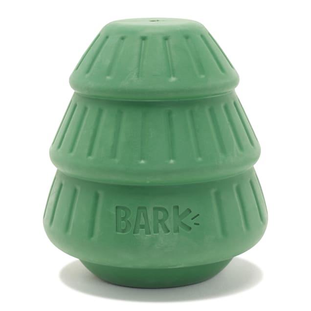 BARK Tough Timber Tree Dispenser Dog Toy, Small - Carousel image #1